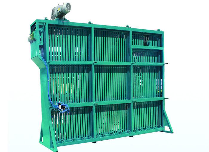 单层笼式储料仓